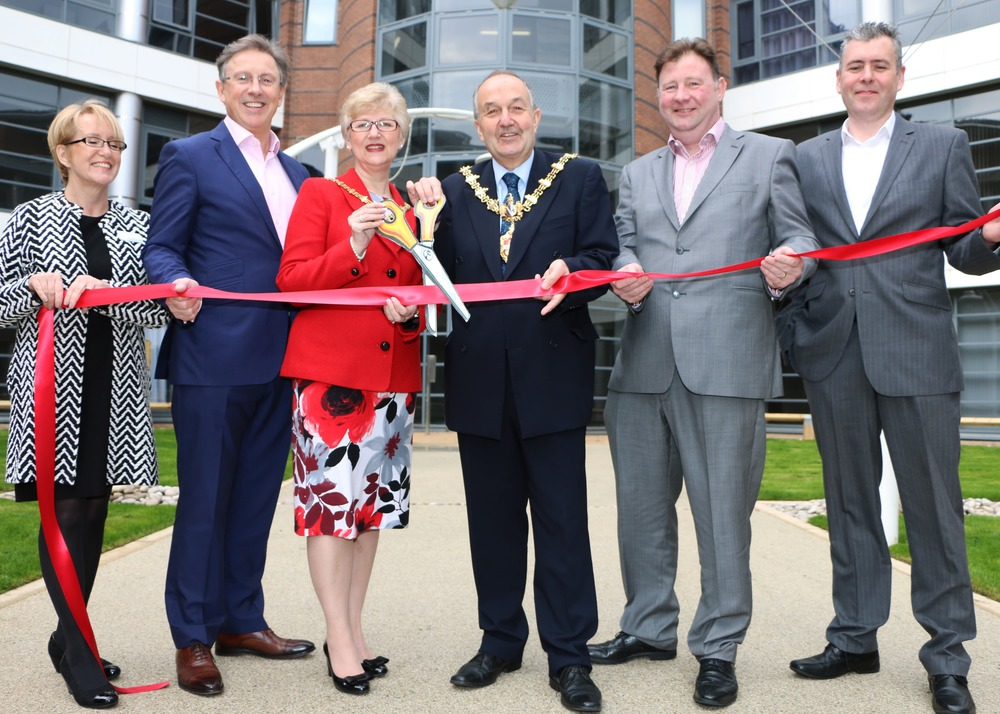 CTC The Landmark (L-R) Clare Osmon, Andy Robinson, Mayoress & Mayor of Dudley, Andy Conroy, Shaun Lyons-min.jpg