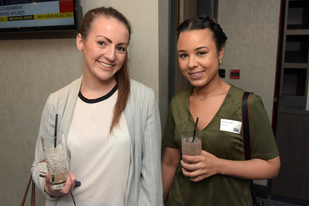 Hannah Green (Urban Communications) and Rebecca Bramhill (MixedxMetals)