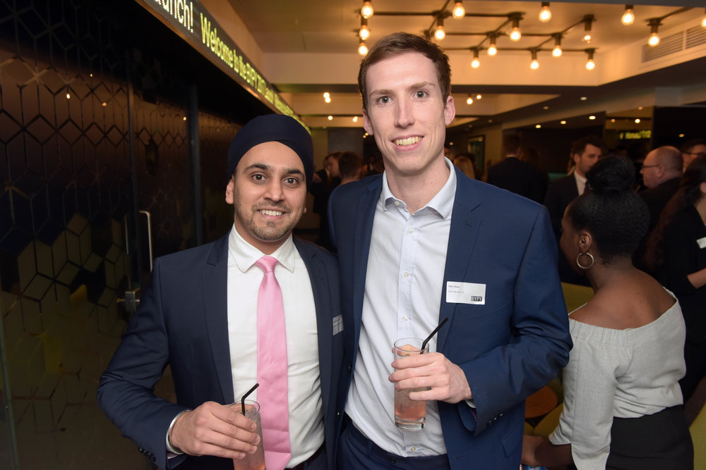 Ravinder Assi (Deutsche Bank) and Ben Hess (Irwin Mitchell)