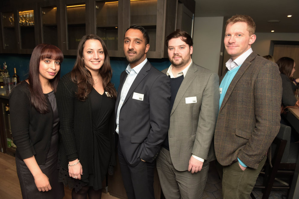 Meena Saroy, Nicole Bakalis, Dean Chauhan, Mike Jones and Paul Batchelor (PwC)