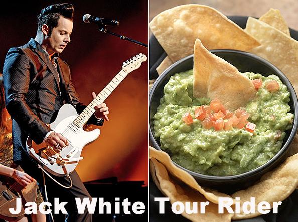 Jack White Tour Rider