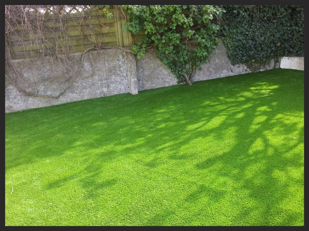Enjoy new lawn!
