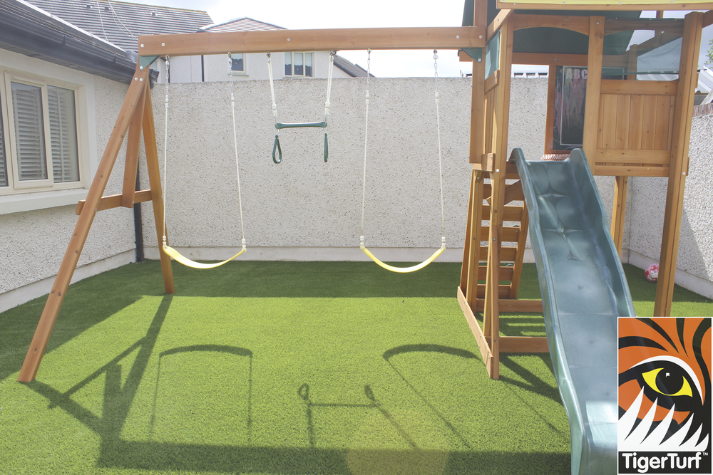 TigerTurf with Swings