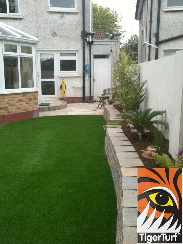 green TigerTurf Lawn