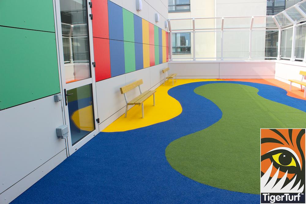 new Playground in Roof Garden Crumlin