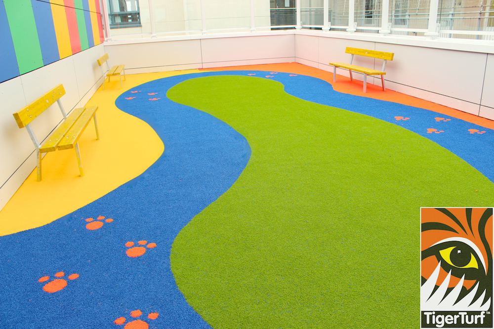 TigerTurf Play area