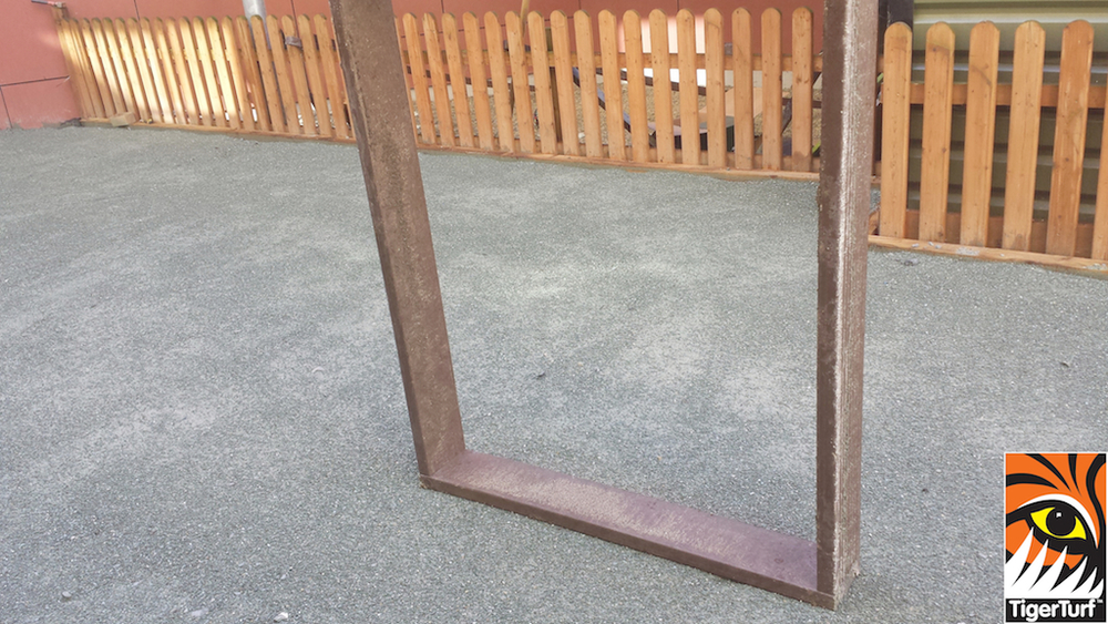 frame for drain cover in Crumlin hospital