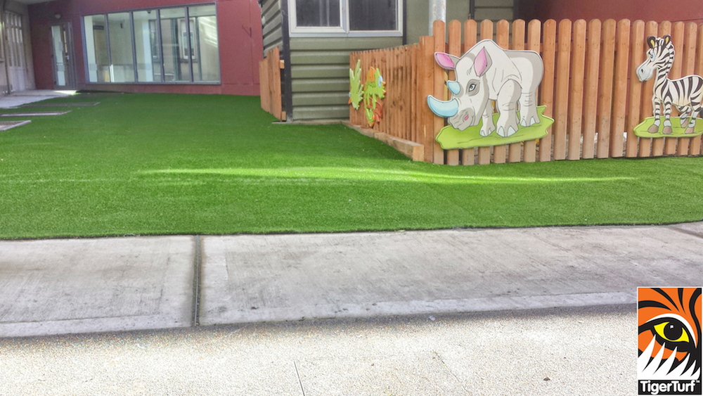 Play area in Vision Plus Grass turf