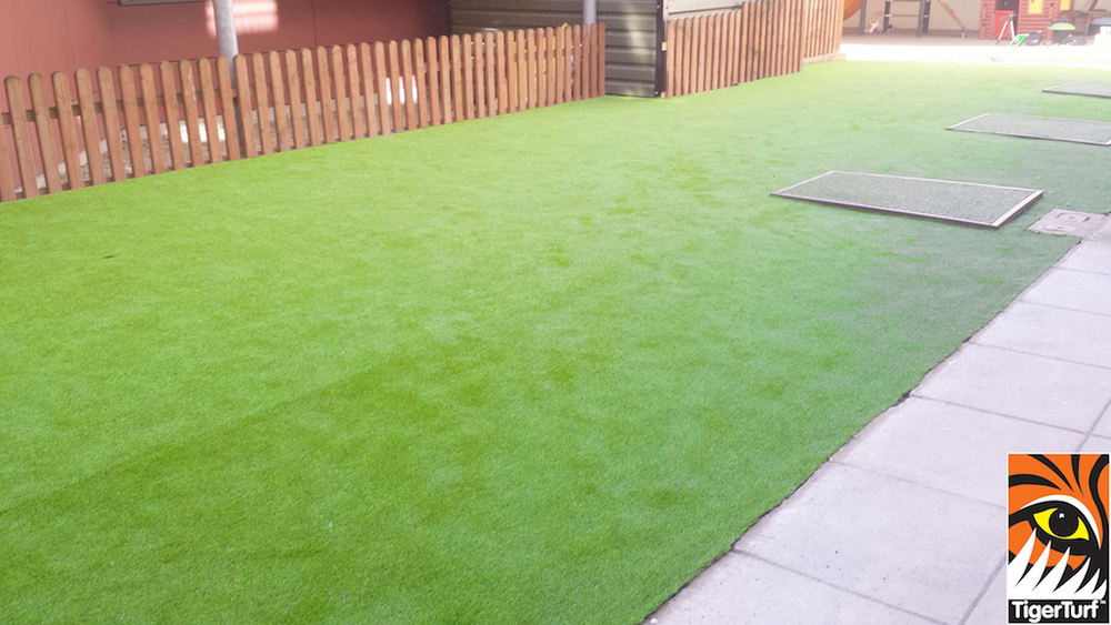 Tigerturf Lawn Turf installation