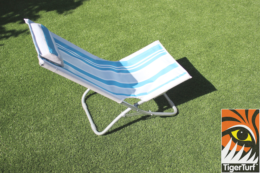Deck Chair on TigerTurf