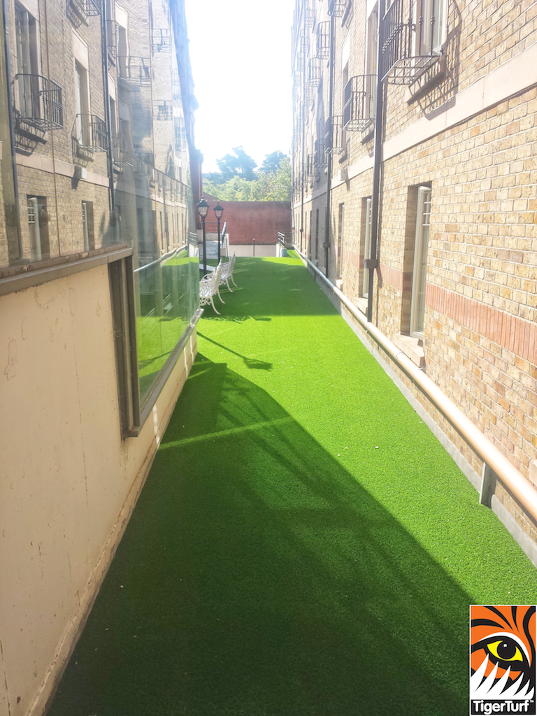 TigerTurf installation for Hotel