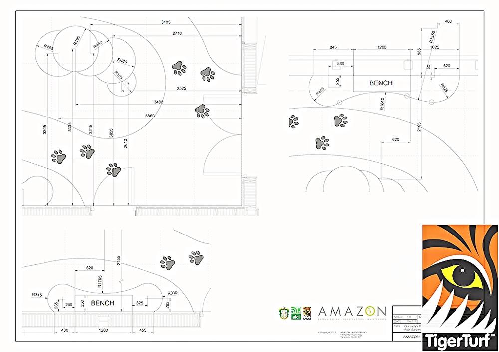 designs for new TigerPlay creche area