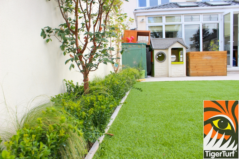 TigerTurf new lawn installation in Dublin