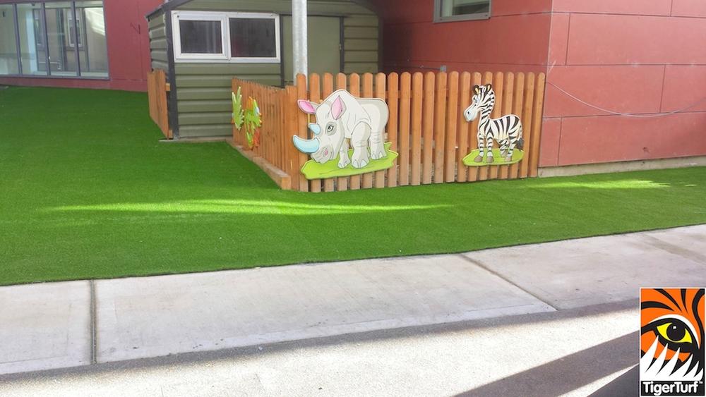 Crumlin Hospital Play Grass