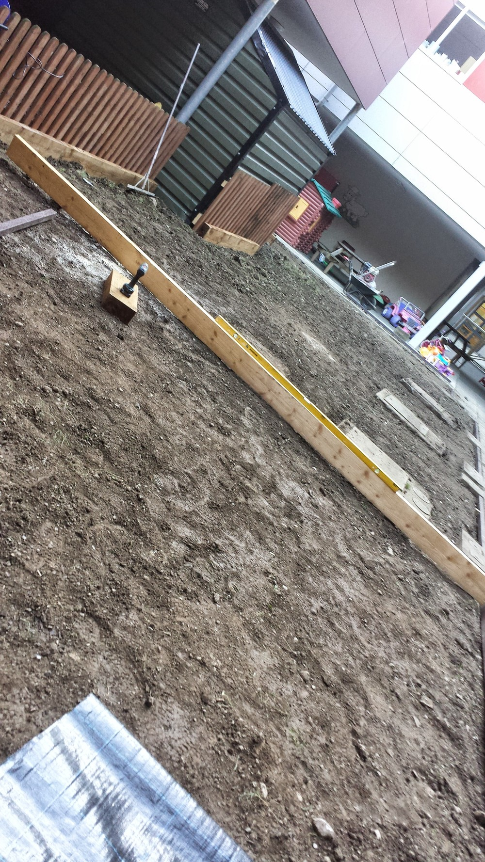 levelling of ground