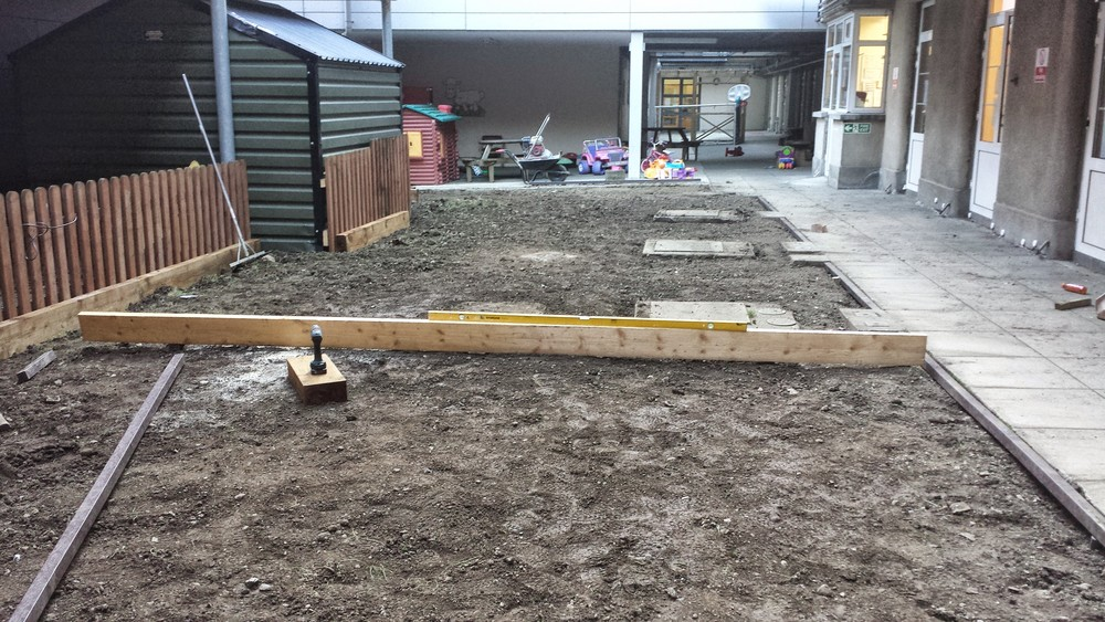 levelling a lawn