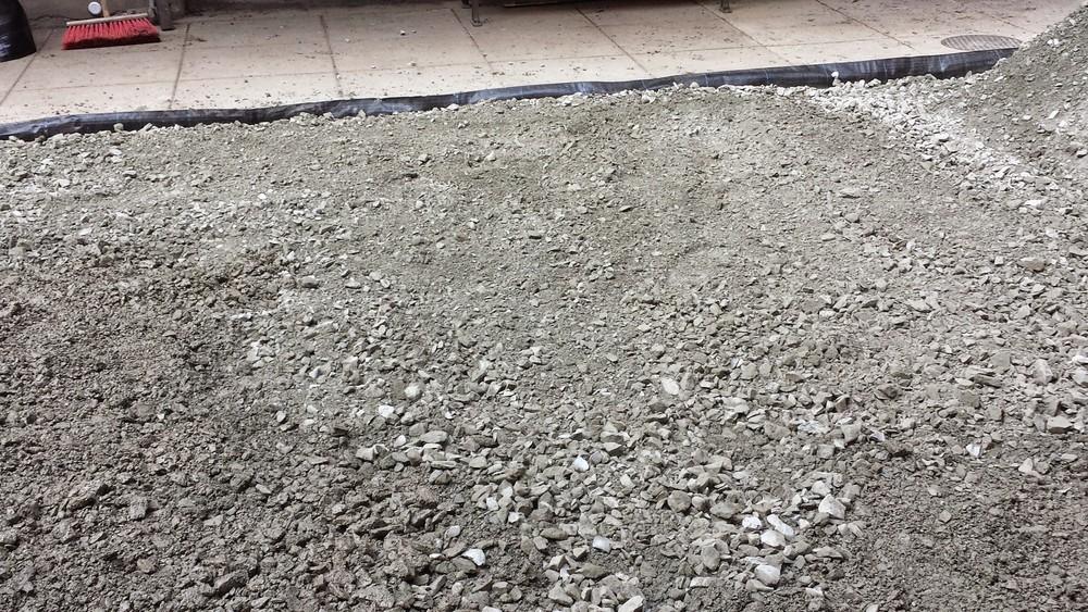 804 crushed limestone base