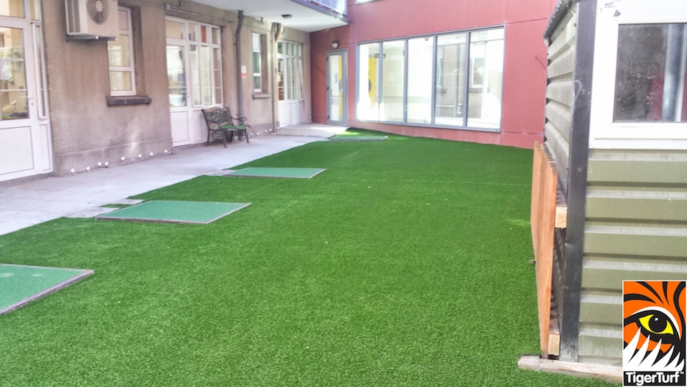 New Playground In TigerTurf