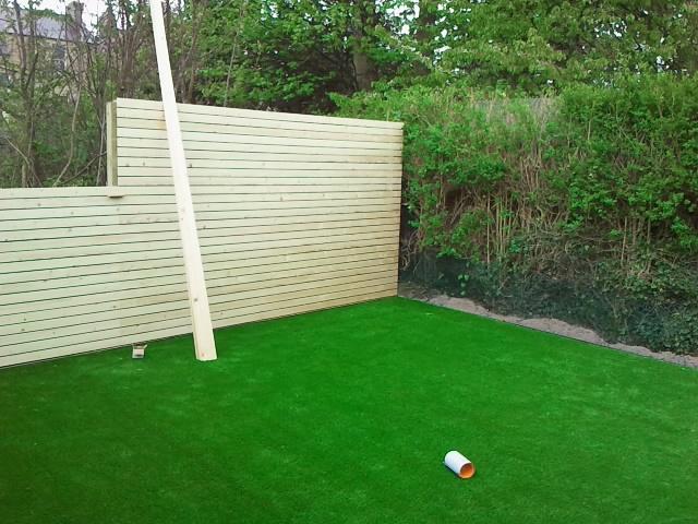 new garden fence