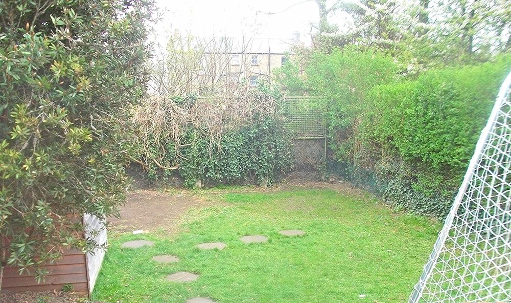 Garden prior to grass installation