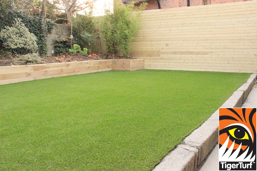 TigerTurf Vision Plus Lawn installed in Dublin