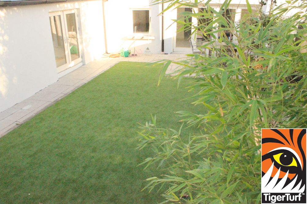 TigerTurf Vision Plus Lawn installation