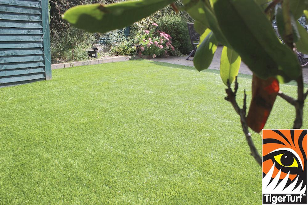 TigerTurf lawn turfed garden