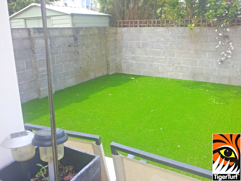 TigerTurf Synthetic Grass installation