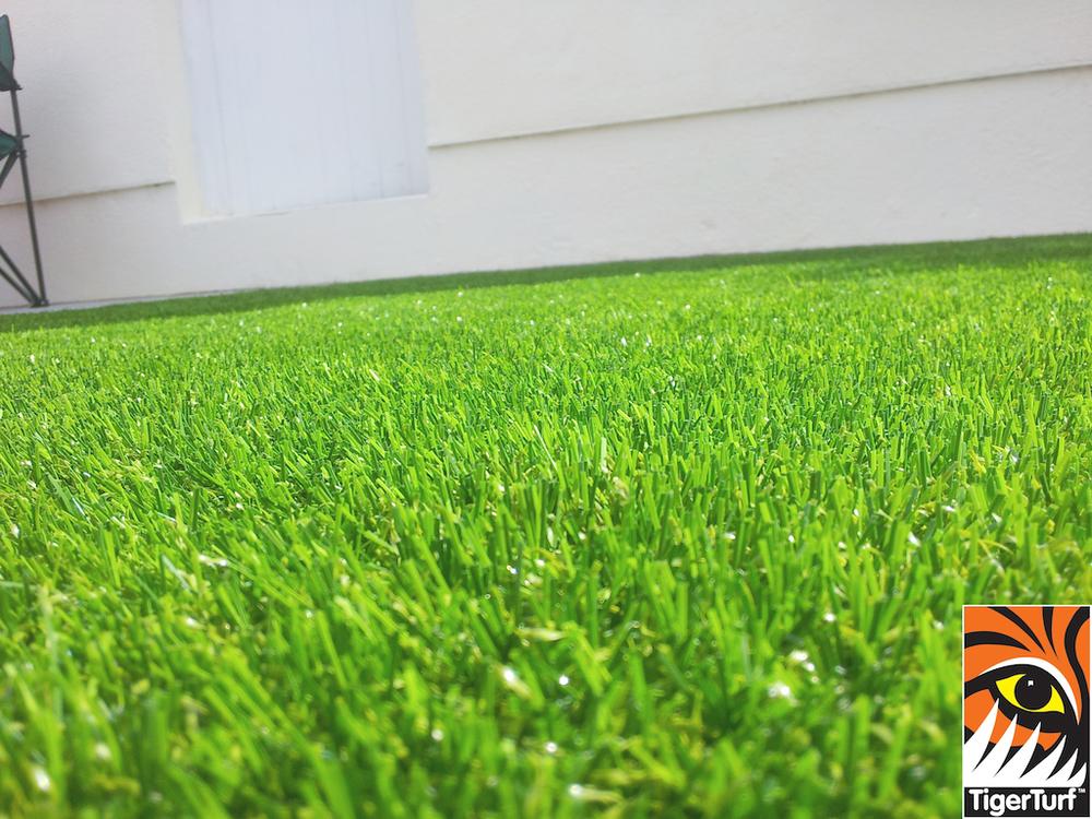 Synthetic garden lawn