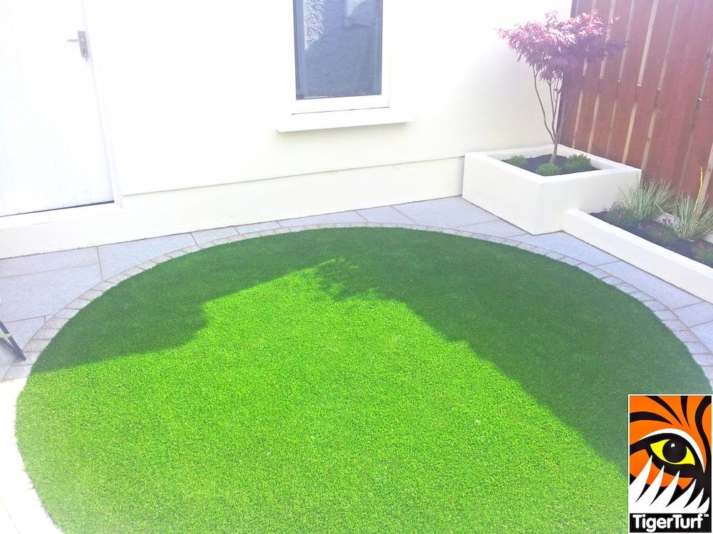 Circular Garden Grass