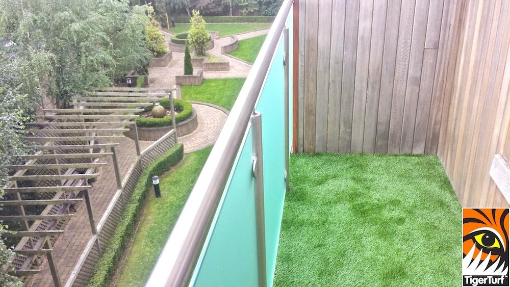 TigerTurf balcony install