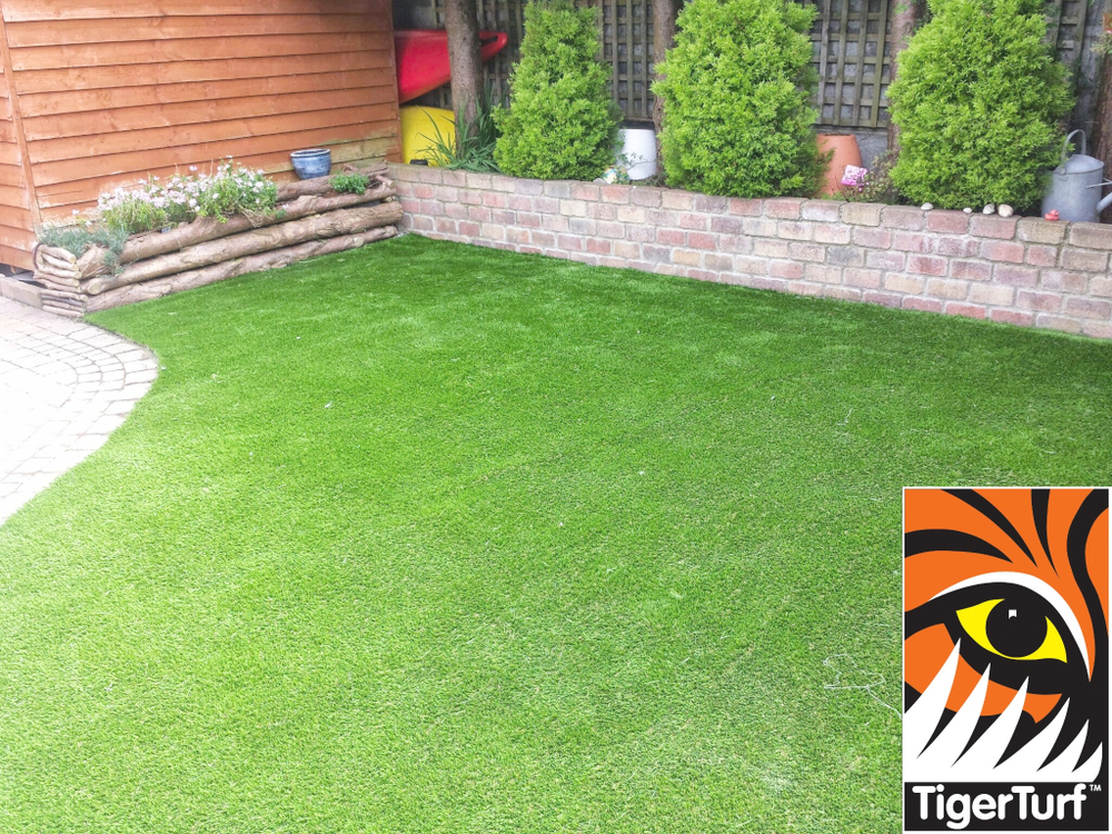 a new TigerTurf lawn