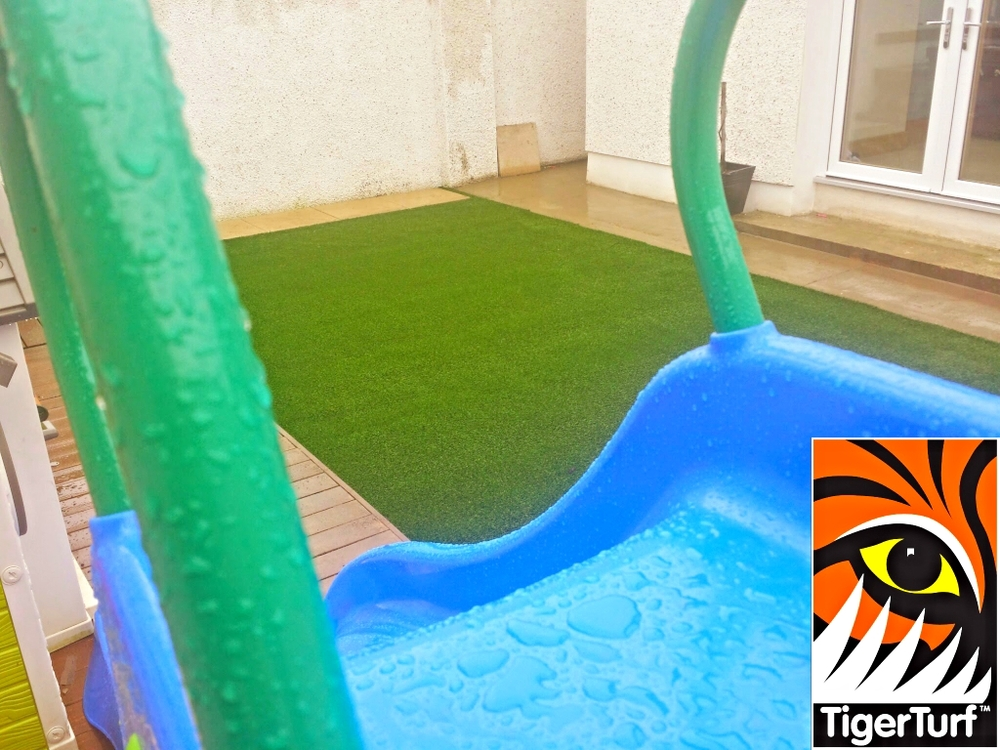 slide and new lawn
