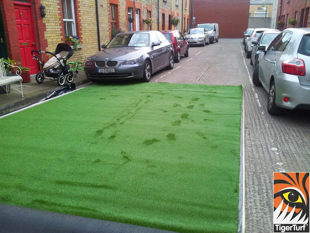 lawn on street
