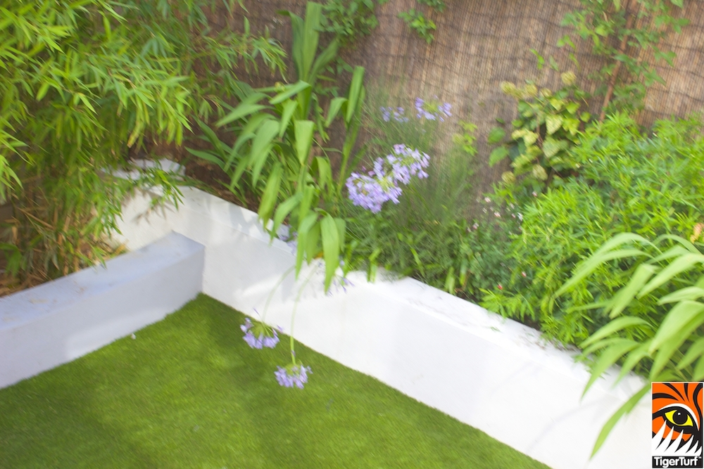 TigerTurf Finesse in small Garden Design