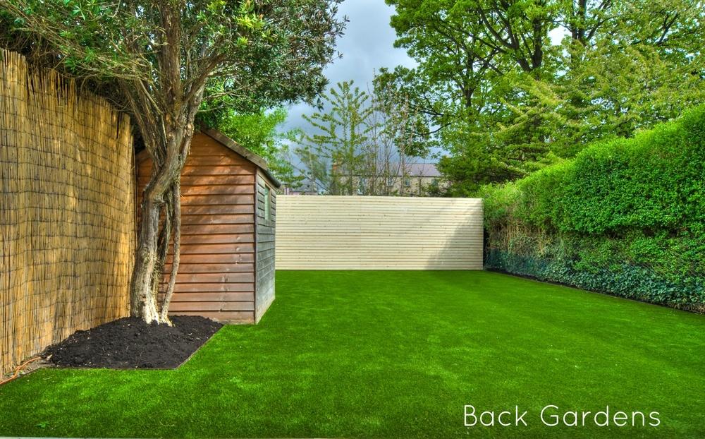Tigerturf Premium Lawn Installation