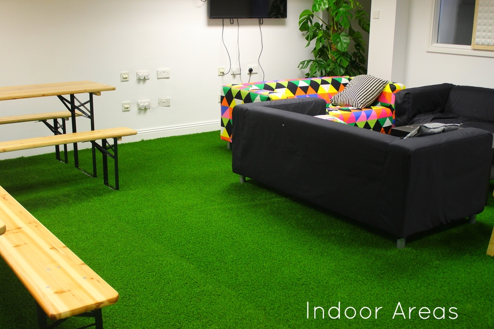 web summit office grass Dublin