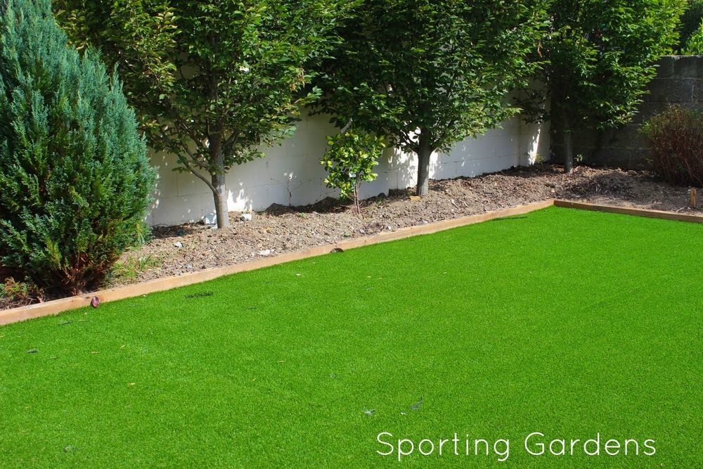 Garden sport with TigerTurf Vision Plus