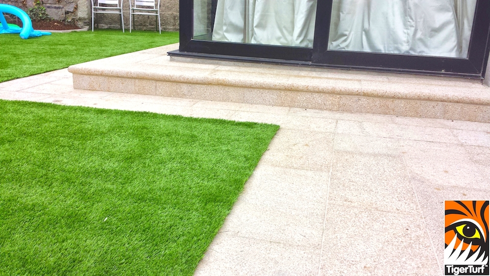 TigerTurf Finesse Deluxe and Gold granite