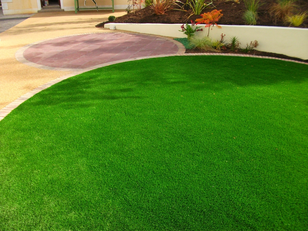 TigerTurf and resin bond surface