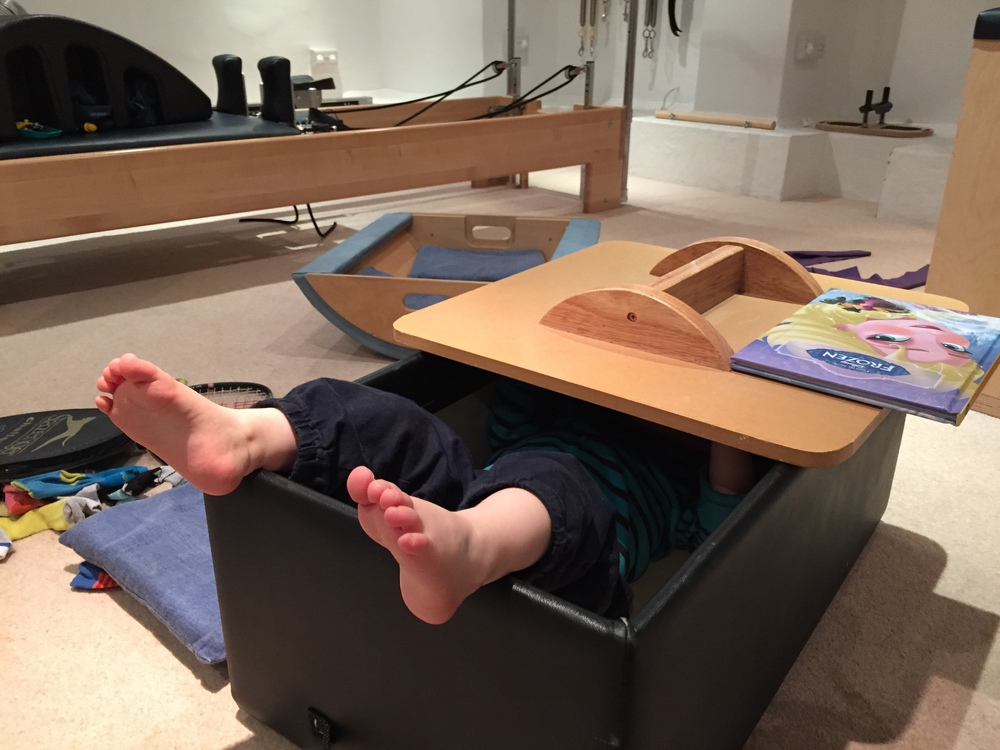 Advance Pilates for 3 year olds (work in progress)