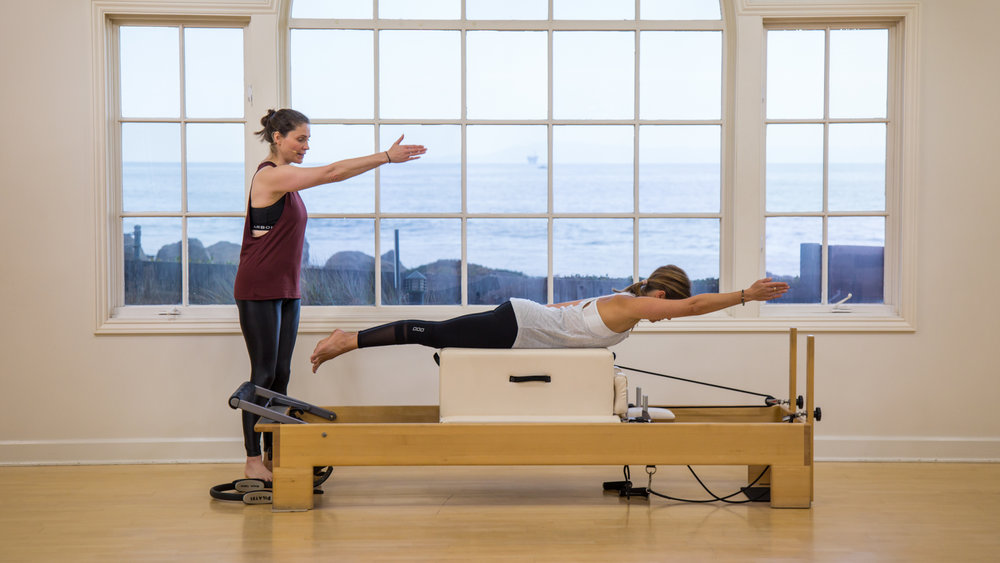 "Photograph courtesy of ""Pilates Anytime"""