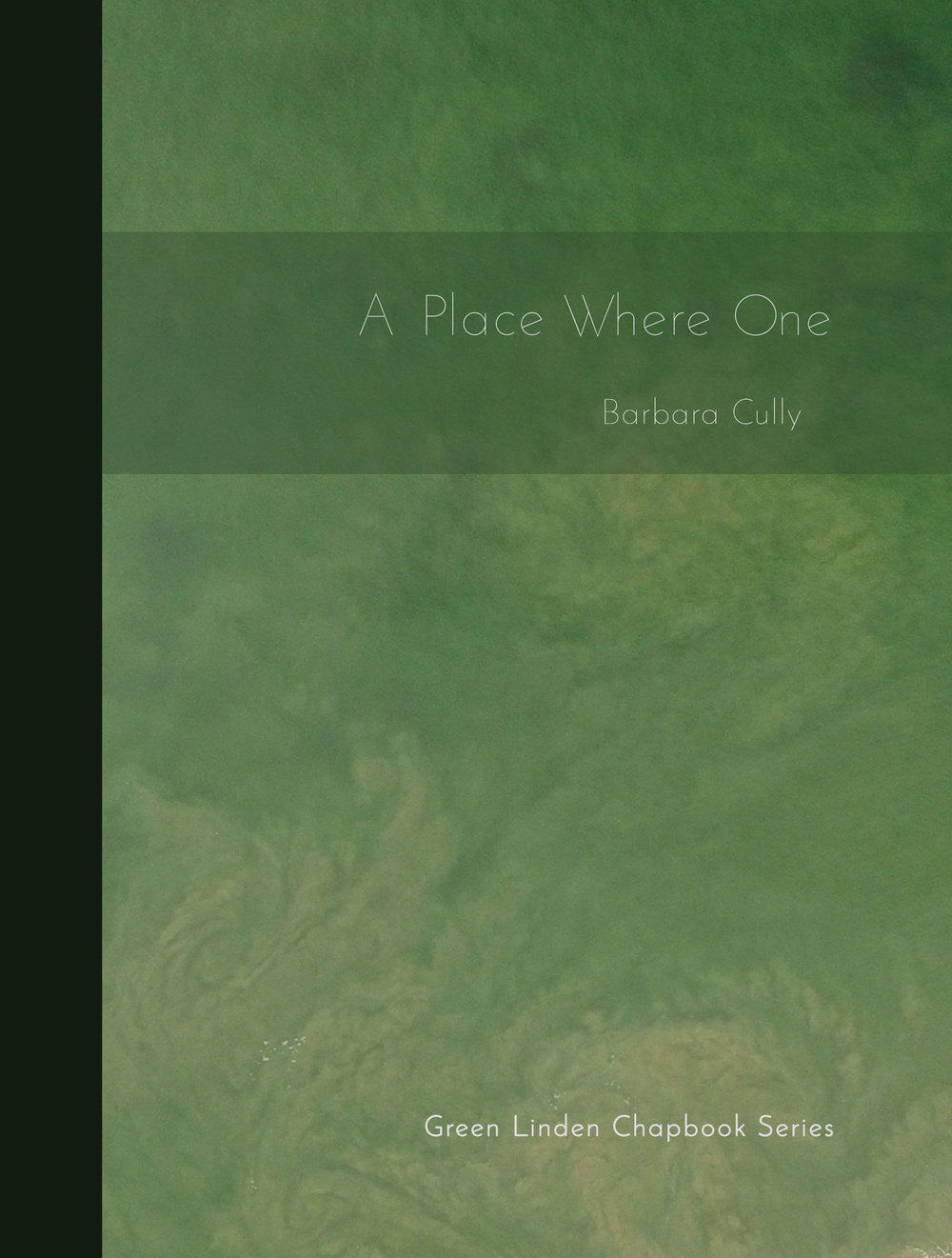 chapbook Barbara Cully's A Place Where One