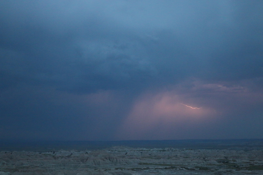 Spot the lightning.