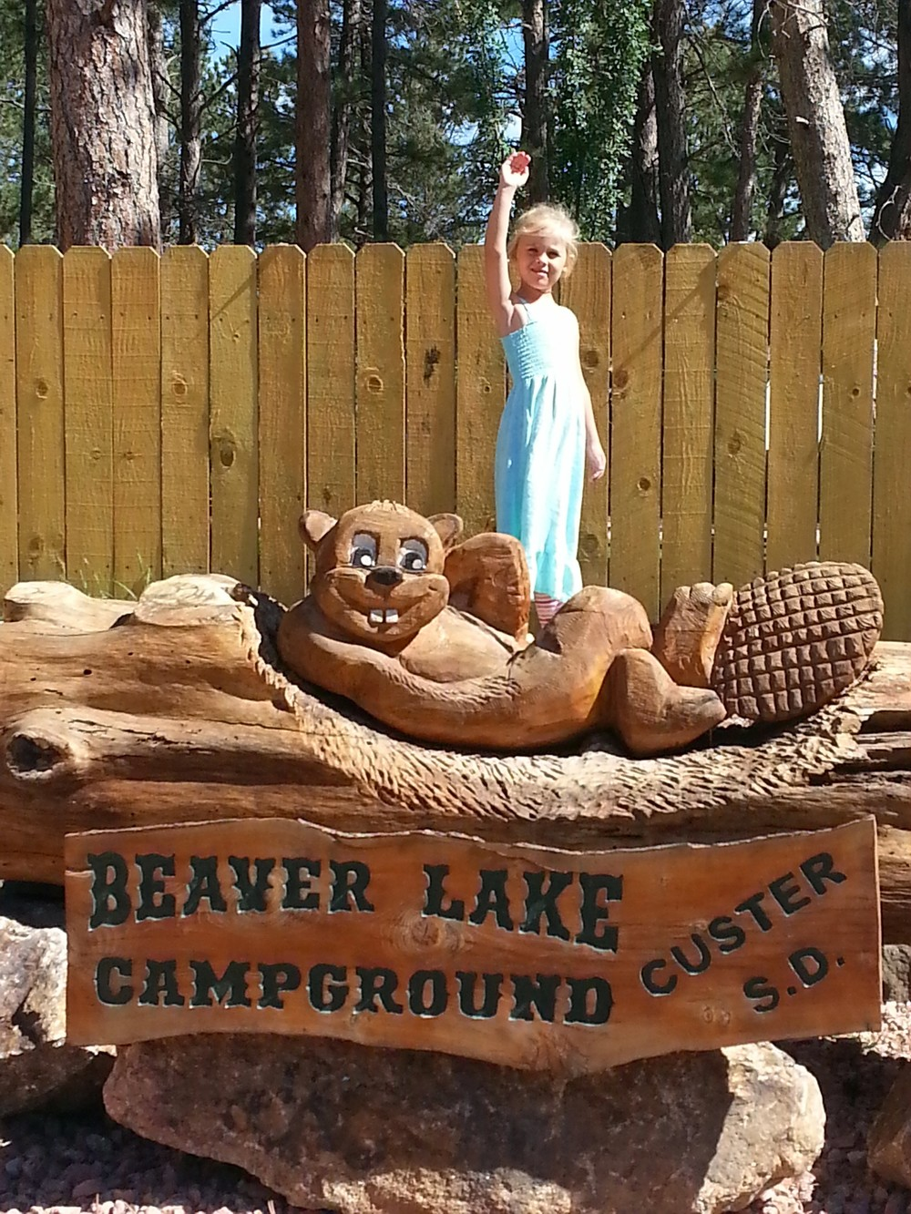 Beaver Lake Campground, Custer, SD: one of our favorites.