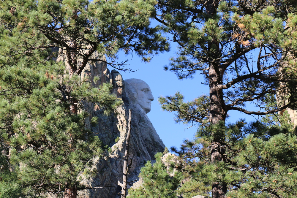 Mount Rushmore National Monument, Black Hills, SD.