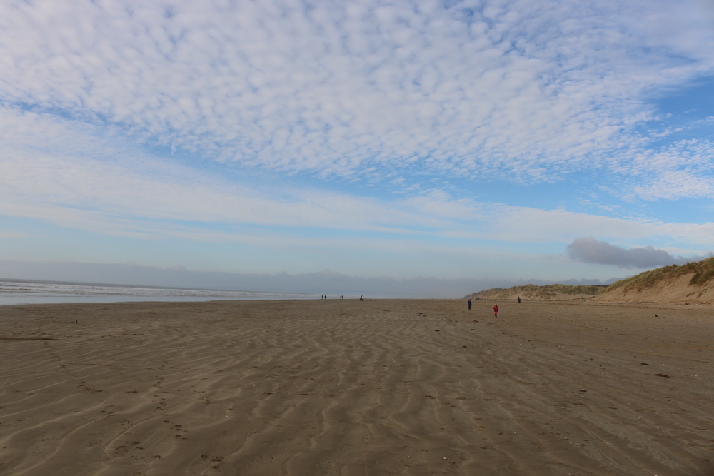 Cefn Sidan: the beach at Pembrey Country Park.