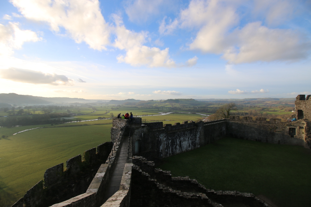 Dinefwr Castle: not a great photo, but a great castle
