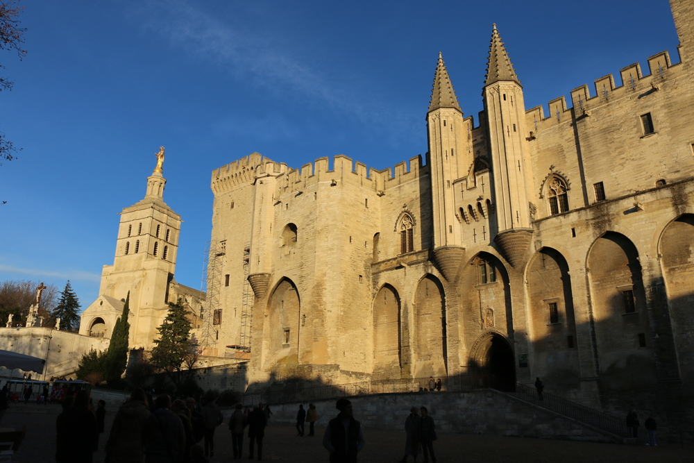 Palais des Papes, Avignon.