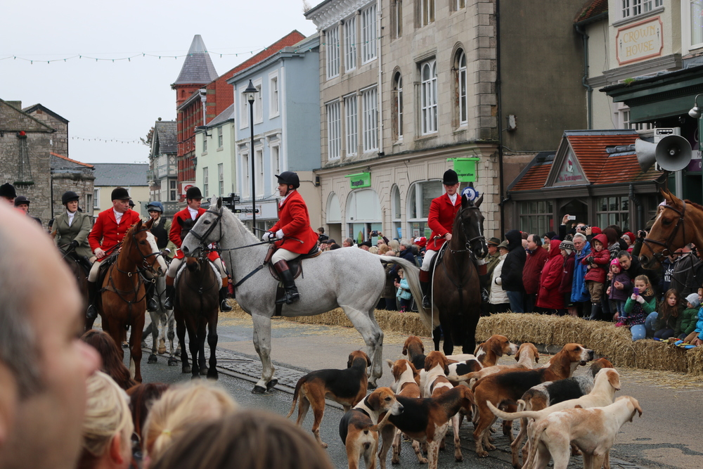 Denbigh Hunt on Boxing Day.